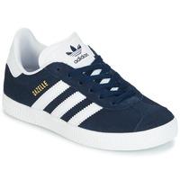 Cipők Fiú Rövid szárú edzőcipők adidas Originals Gazelle C Tengerész