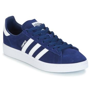 Cipők Fiú Rövid szárú edzőcipők adidas Originals CAMPUS J Tengerész