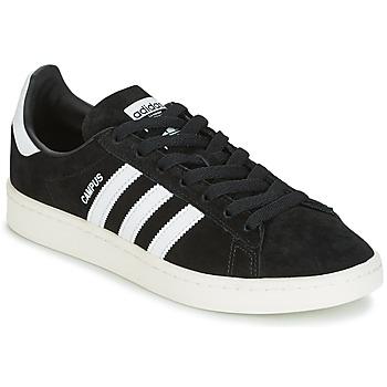 Cipők Rövid szárú edzőcipők adidas Originals CAMPUS Fekete