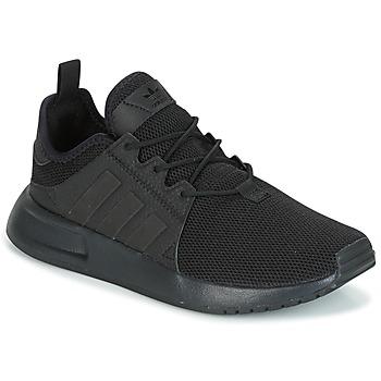 Cipők Gyerek Rövid szárú edzőcipők adidas Originals X_PLR Fekete