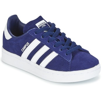 Cipők Fiú Rövid szárú edzőcipők adidas Originals CAMPUS C Tengerész