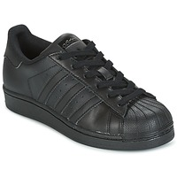 Cipők Gyerek Rövid szárú edzőcipők adidas Originals SUPERSTAR Fekete