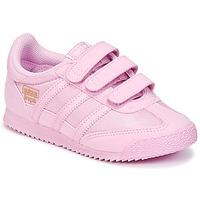 Cipők Lány Rövid szárú edzőcipők adidas Originals DRAGON OG CF I Rózsaszín