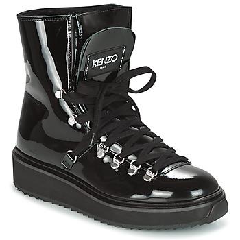 Cipők Női Hótaposók Kenzo ALASKA Fekete