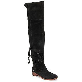 Cipők Női Combcsizmák See by Chloé FLIROL Fekete