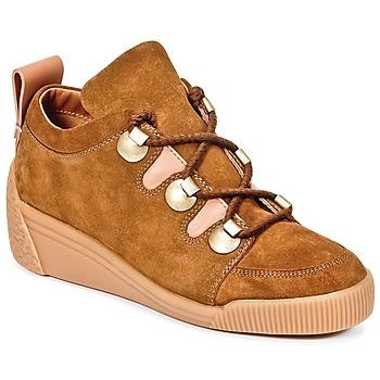Cipők Női Rövid szárú edzőcipők See by Chloé FLAVI Barna