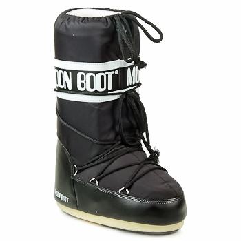 Cipők Női Hótaposók Moon Boot MOON BOOT NYLON Fekete