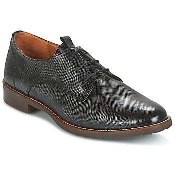 Cipők Női Oxford cipők Heyraud FANFAN Fekete