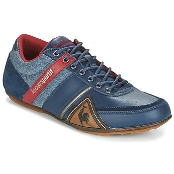 Cipők Férfi Rövid szárú edzőcipők Le Coq Sportif ANDELOT S LEA/2TONES Kék / Piros