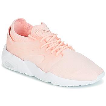 Cipők Női Rövid szárú edzőcipők Puma Blaze Cage Knit Wn's Rózsaszín