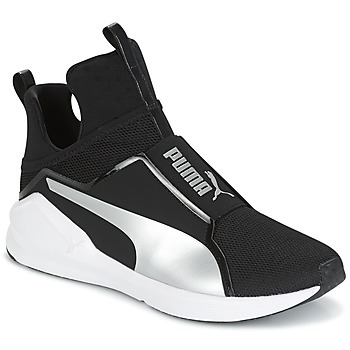 Cipők Női Magas szárú edzőcipők Puma FIERCE core Fekete