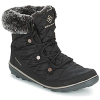 Shoes Női Hótaposók Columbia HEAVENLY SHORTY OMNI-HEAT Fekete