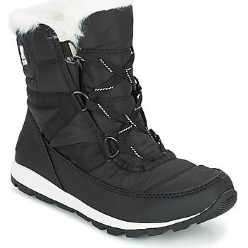 Cipők Női Hótaposók Sorel WHITNEY SHORT LACE Fekete