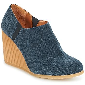 Cipők Női Bokacsizmák Castaner VIENA Kék