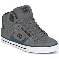 Cipők Férfi Magas szárú edzőcipők DC Shoes SPARTAN HIGH WC Szürke / Zöld