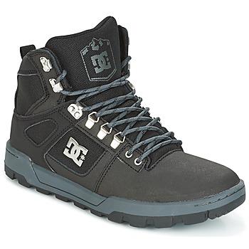 Cipők Férfi Magas szárú edzőcipők DC Shoes SPARTAN HIGH WR Fekete  / Szürke