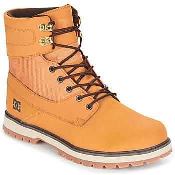 Cipők Férfi Csizmák DC Shoes UNCAS M BOOT TBK Bézs / Fekete  / Barna