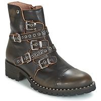 Cipők Női Csizmák Dkode UMBRIA-BLACK-001 Fekete