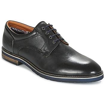 Cipők Férfi Oxford cipők Salamander VASCO-AW Fekete