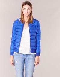 Ruhák Női Steppelt kabátok S.Oliver MARIZ Kék