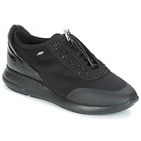 Cipők Női Rövid szárú edzőcipők Geox D OPHIRA Fekete