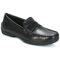 Cipők Férfi Mokkaszínek Geox U MONET W 2FIT Fekete