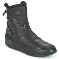 Cipők Női Csizmák Geox D NEW MOENA Fekete