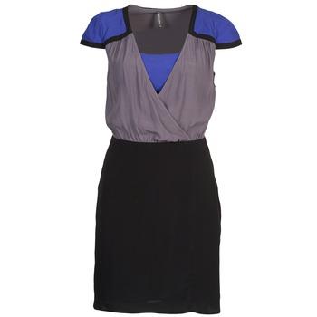 Ruhák Női Rövid ruhák Naf Naf LYFAN Fekete  / Szürke / Kék