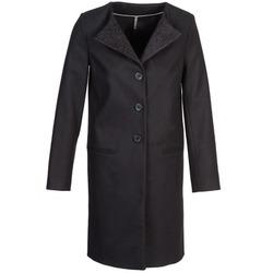 Ruhák Női Kabátok Naf Naf APATI Fekete