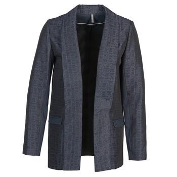 Ruhák Női Kabátok / Blézerek Naf Naf ELYO Tengerész