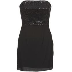 Ruhák Női Rövid ruhák Naf Naf LYCHA Fekete