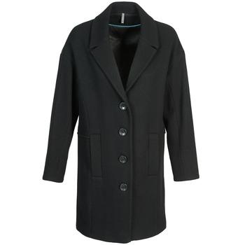 Ruhák Női Kabátok Naf Naf ALEX Fekete