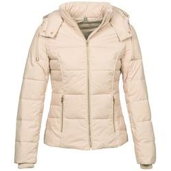 Ruhák Női Steppelt kabátok Naf Naf BEINE Ekrü
