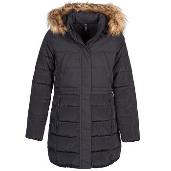 Ruhák Női Steppelt kabátok Naf Naf BEY Fekete