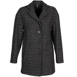 Ruhák Női Kabátok Naf Naf AKLAPA Fekete