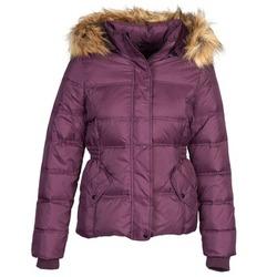Ruhák Női Steppelt kabátok Naf Naf BEGY Bordó