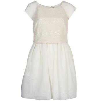 Ruhák Női Rövid ruhák Naf Naf LYMELL Fehér