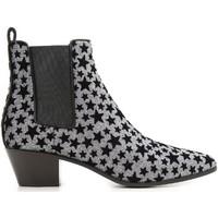 Cipők Női Bokacsizmák Saint Laurent 443095 GRQ00 8135 Antracite