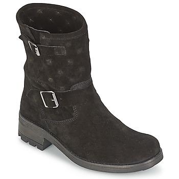 Cipők Női Csizmák Naf Naf XHNX70A18 Fekete