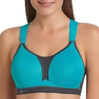 Fehérnemű Női Sport melltartók Anita Active 5537-364 PEA/ANTH Kék
