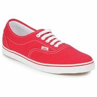 Cipők Rövid szárú edzőcipők Vans LPE Piros