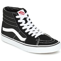 Cipők Magas szárú edzőcipők Vans SK8 HI Fekete  / Fehér