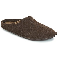 Shoes Mamuszok Crocs CLASSIC SLIPPER Barna
