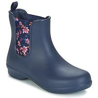 Cipők Női Csizmák Crocs CROCS FREESAIL CHELSEA Tengerész