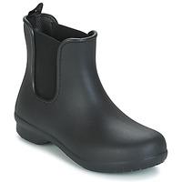 Cipők Női Csizmák Crocs CROCS FREESAIL CHELSEA Fekete