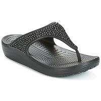 Cipők Női Szandálok / Saruk Crocs SLOANE Fekete