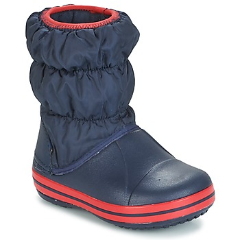 Shoes Gyerek Gumicsizmák Crocs WINTER PUFF BOOT KIDS Tengerész