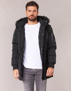 Ruhák Férfi Parka kabátok Deeluxe SHARKSON Fekete