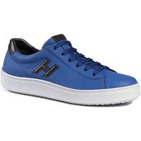 Cipők Férfi Rövid szárú edzőcipők Hogan HXM3020W550ETV809A blu