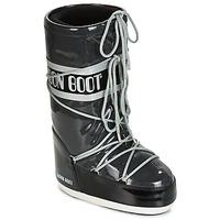 Cipők Női Hótaposók Moon Boot MOON BOOT STARRY Fekete  / Fehér